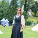 Ritter und Pferde und Fußvolk vom Wochenende