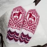 Dala Selbuvotter – Norwegische Handschuhe mit Dalapferd
