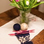 Friday Flower- and Knitting-Day