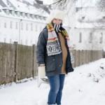 Ganz schön schwanger im Schnee – Der 9. Monat