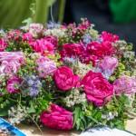 Die Traunsteiner Rosentage 2016: Blumen, Märchenbrunnen und die Rosenprinzessin